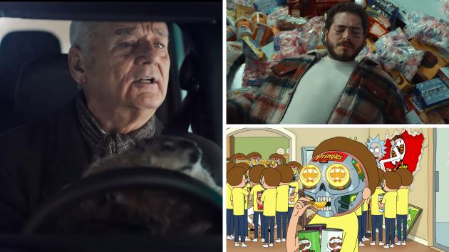 Jason Momoa 'peels off' muscles in Super Bowl LIV ad