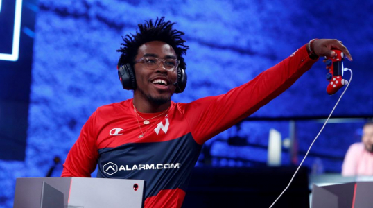 Wizards District Gaming pen NBA 2K jersey patch deal with Alarm.com
