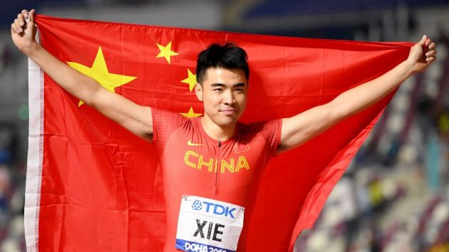 Nike sprints to long-term Chinese Athletics extension
