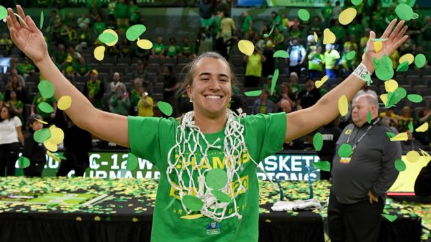 Ionescu goes No. 1 in WNBA draft to New York Liberty