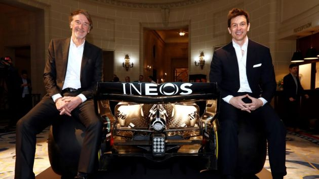 Mercedes F1 welcomes INEOS as principal sponsor