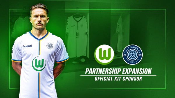 Wolfsburg secure shirt sponsorship of US club Chattanooga FC