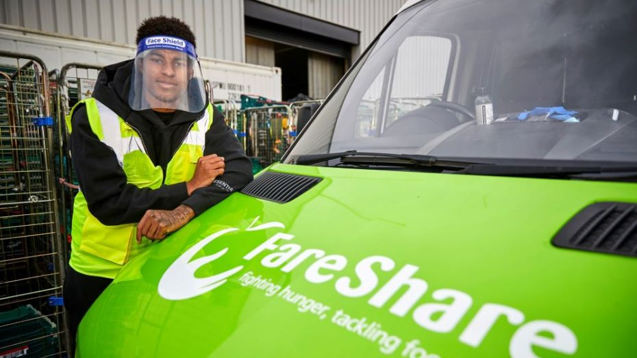 How Marcus Rashford's campaign to end child food poverty is opening new  doors for FareShare - SportsPro Media