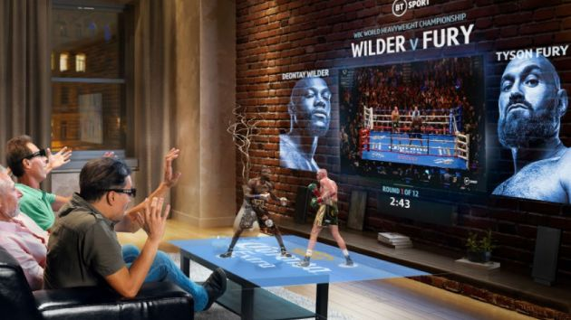 BT Sport's boxing coverage to feature 3D hologram technology