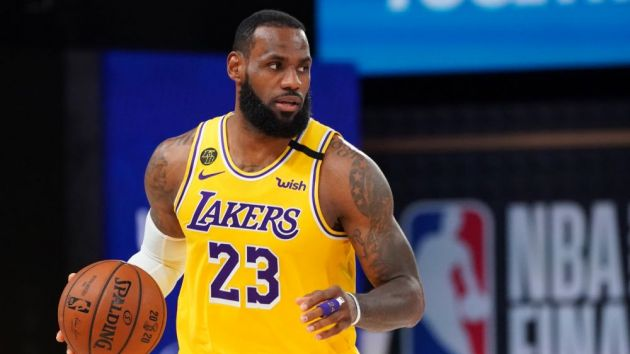 LeBron James and Lakers top jersey sales since NBA restart ...