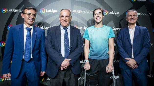 La Liga lanza el servicio OTT para impulsar la irrupción del deporte español
